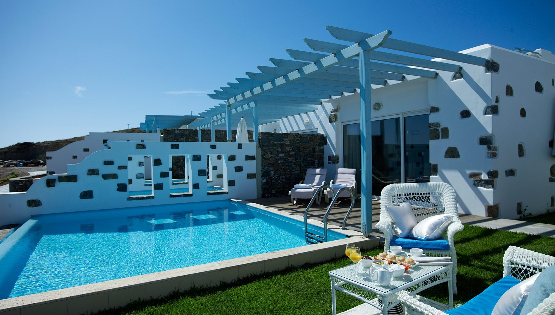 Atrium prestige rodi grecia junior bungalow vista mare - Hotel con piscina in camera ...